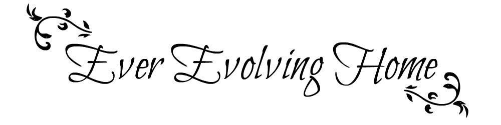 Ever Evolving Home